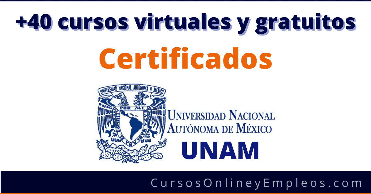Cursos Gratuitos Unam En Linea Por Coursera Certificados 2021