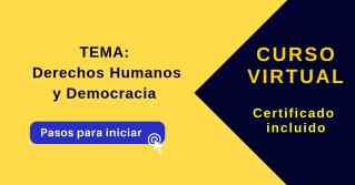Derechos Humanos y Democracia curso virtual