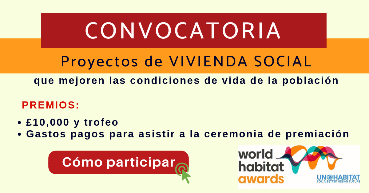 World Habitat convocatoria