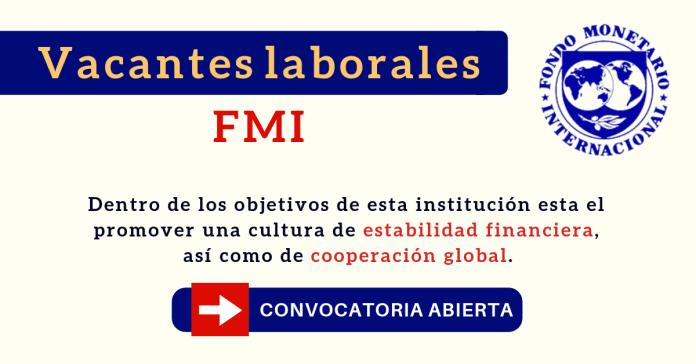 Fondo Monetario Internacional ofertas de empleo