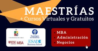Maestrías en Administración y cursos online