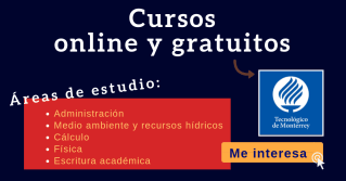 ITESM Cursos online gratis