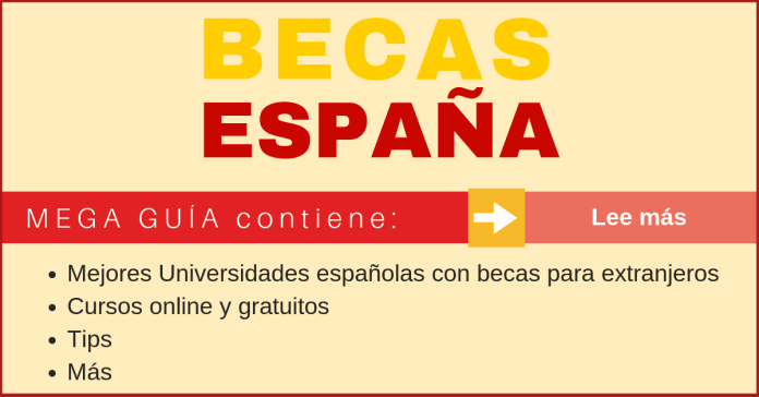 Maestrías en España Becas en España