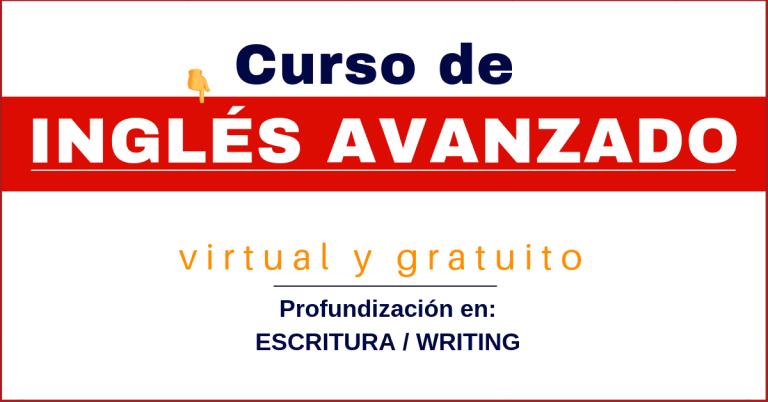 curso de inglés avanzado certiificado