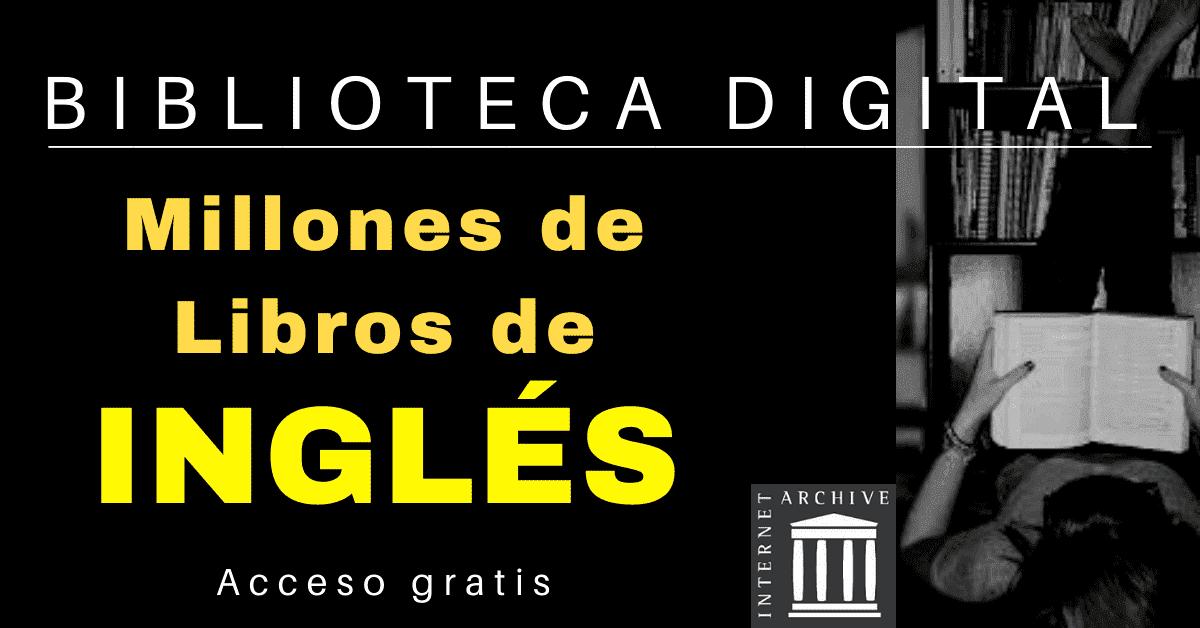 libros para leer en ingles Archive org