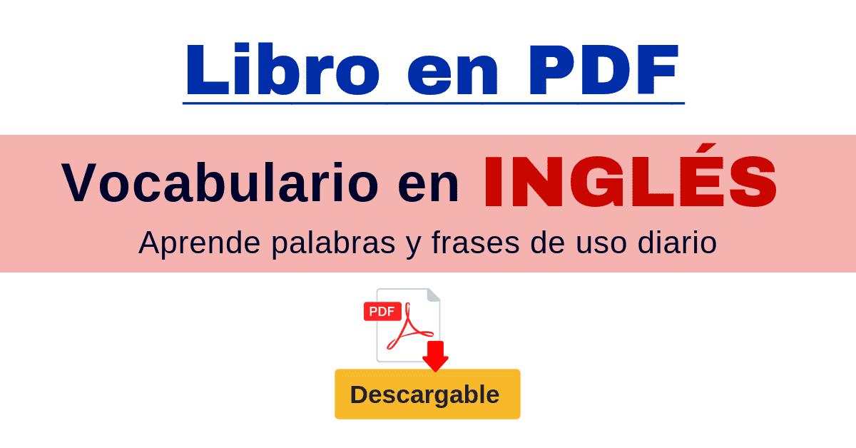 Vocabulario En Ingles Y Español Palabras Y Frases De Uso