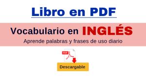 VOCABULARIO EN INGLES PDF