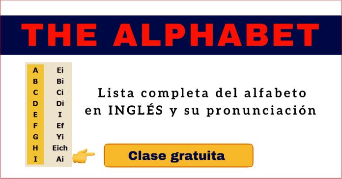 alfabeto en ingles pronunciacion