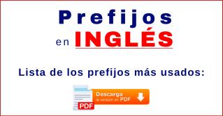 prefijos en inglés más usados