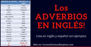 adverbios en inglés ejemplos
