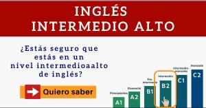 nivel b2 ingles intermedio