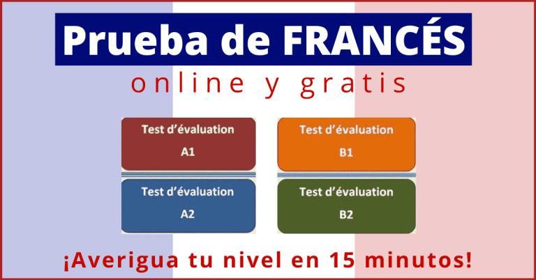 Prueba de nivel frances online gratis