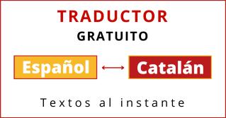 traductor de español a catalan