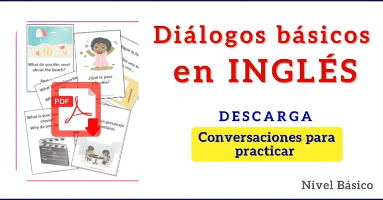 dialogos en ingles para niños