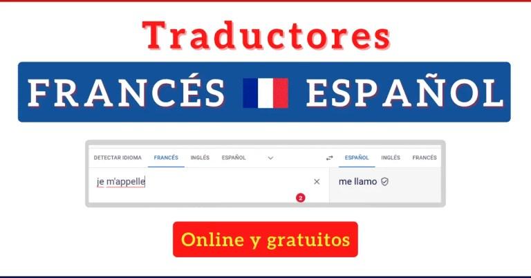 Traductor francés español