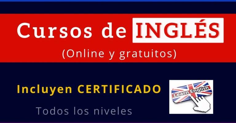 Cursos de inglés online gratis