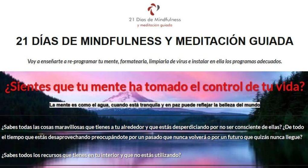 La meditación no solo puede ayudarte a mejorar tu vida sino que también puede cambiártela por completo ya que es una herramienta excelente para auto-conocerte, resetear tu mente y conectarte con lo que realmente importa. A lo largo de este curso voy a enseñarte cómo programar tu mente para que trabaje a tu favor y cómo tan solo 10/15 minutos diarios de meditación pueden otorgar grandes beneficios en tu día a día. Un sistema para reprogramar tu mente y empezar a vivir de verdad ¿Sientes que tu mente ha tomado el control de tu vida? La mente es como el agua, cuando está tranquila y en paz puede reflejar la belleza del mundo. ¿Sabes todas las cosas maravillosas que tienes a tu alrededor y que estás desperdiciando por no ser consciente de ellas? ¿De todo el tiempo que estás desaprovechando preocupándote por un pasado que nunca volverá o por un futuro que quizás nunca llegue? ¿Sabes todos los recursos que tienes en tu interior y que no estás utilizando? ¿Qué vas a encontrar en este curso? 21 AUDIOS DE MEDITACIÓN GUIADA (audios de auto-terapia) Más de 4 horas en audios de meditación guiada (en mp3) para que aprendas a acceder a tus recursos internos, a gestionar mejor tus emociones, tus pensamientos, hacer las paces con tu pasado y trabajar un sin fin de cosas más que pueden estar impidiéndote lograr la calidad de vida que te mereces. Audio para entrar en estado de relajación y meditación profunda Anclaje para acceder a tus recursos internos Audio para regresar al pasado en busca de bloqueos sin resolver Audio para vivir el instante presente Meditación rápida para eliminar tensiones musculares Meditación para disipar emociones negativas Meditación para subir la autoestima Meditación para aumentar tu motivación Meditación de agradecimiento (para hacer antes de dormir) Meditación para aumentar la positividad y la felicidad Meditación para fortalecer el sistema inmunológico Meditación para el perdón Meditación para sanar el pasado Meditación para superar tus miedos Meditació