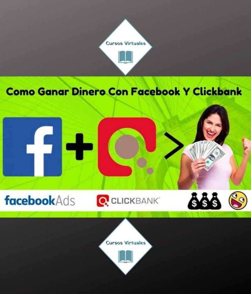 ganar dinero con facebook y clickbank