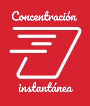 Concentración instantánea