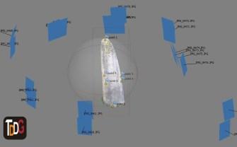 Modelo 3D de menhir