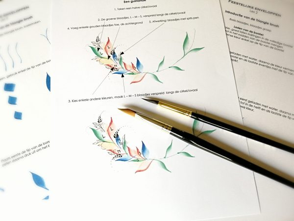 kalligrafie flourishing