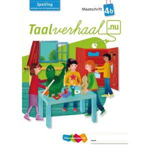 Maatschrift spelling 4B, Taalverhaal.nu