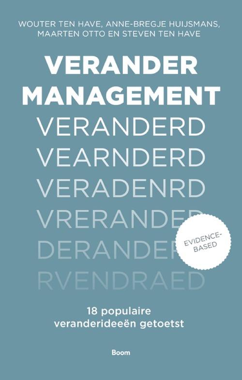 Verandermanagement veranderd - Anne-Bregje Huijsmans - eBook (9789024421183)