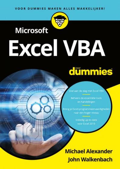 Michael Alexander & John Walkenbach Microsoft Excel VBA voor Dummies