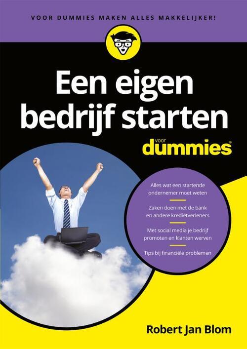 Een eigen bedrijf starten voor Dummies - Robert Jan Blom - Paperback (9789045351391)