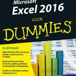 Microsoft Excel 2016 voor Dummies - Greg Harvey - eBook (9789045352442)
