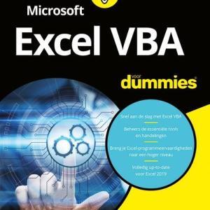 Microsoft Excel VBA voor Dummies - John Walkenbach, Michael Alexander - Paperback (9789045356167)