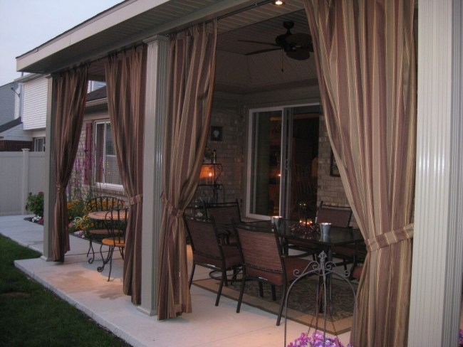 Outdoor Curtain Systems, Track **2021 Curtain
