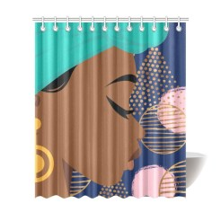 Black Women Curtain - Decorating With Black Women's Curtains Room Curtain Shower Curtain