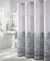 Hookless Shower Curtain Rods Shower Curtain