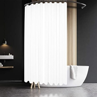 Extra Long And Wide Shower Curtain Liner To Match Your Bathroom Shower Curtain