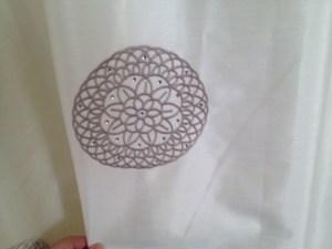 Daimante curtains.