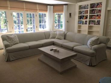 Custom Sofa Cover, Seat Cushions & Pillows