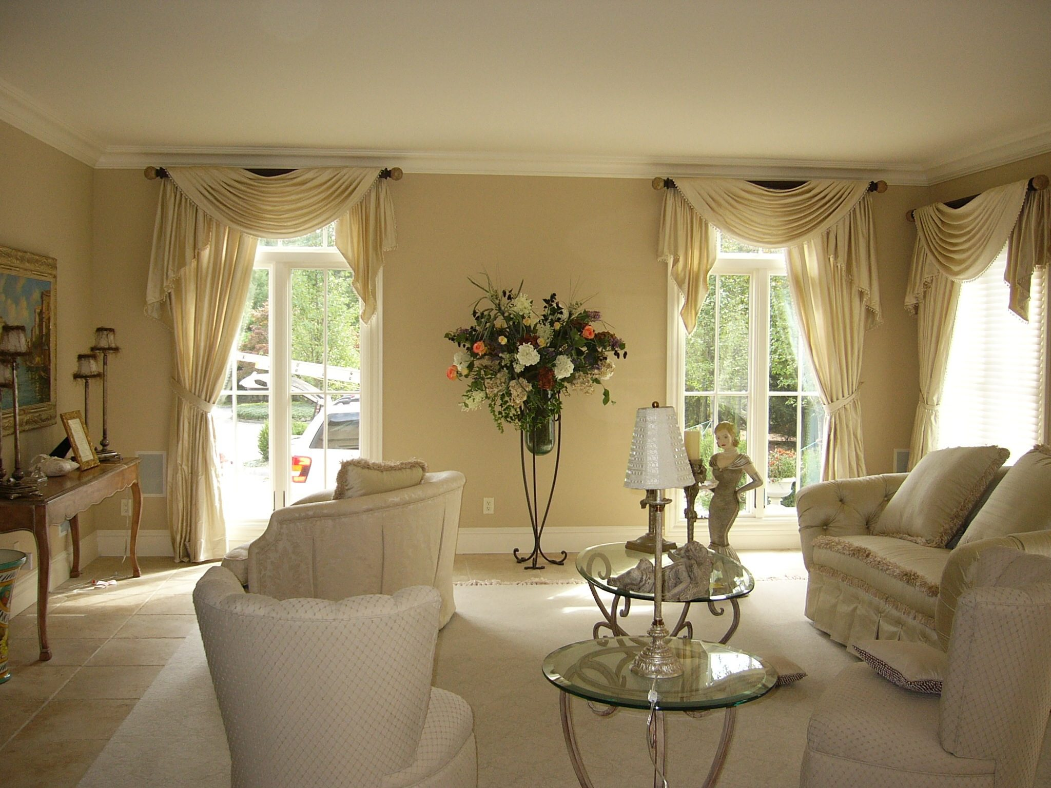 Valances And Swags By Curtains Boutique In Nj