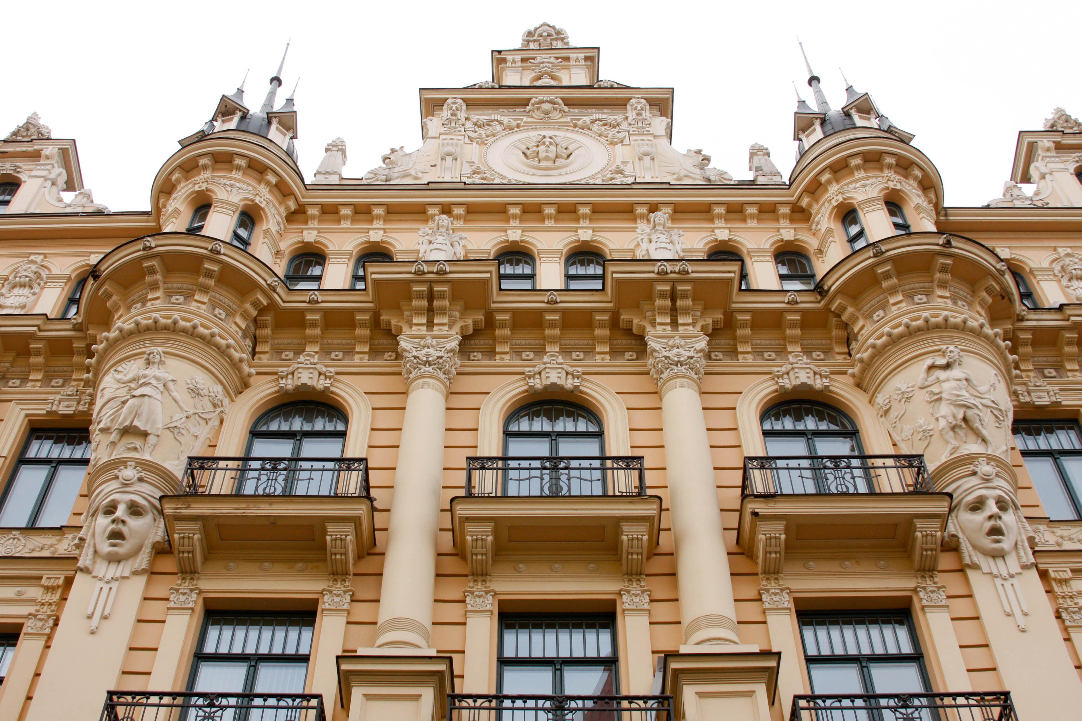Art Nouveau Architecture Moldova A Peace Corps Adventure