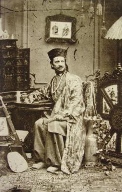 Carol Szathmari, autoportret, circa 1850