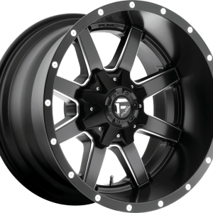 Maverick Matte Black Milled D538
