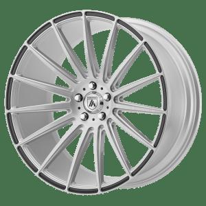 POLARIS Brushed Silver Carbon Fiber Insert