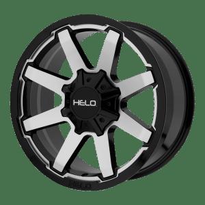 HE909 Gloss Black Machined