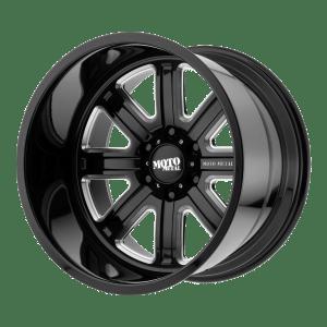 MO402 Gloss Black Milled