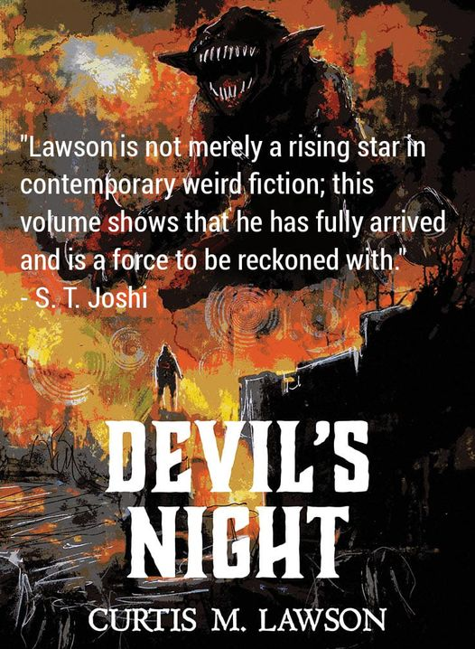 devil's night blurb joshi