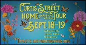 Curtis Street Home Garden and Walking Tour - September 18-19, 2021