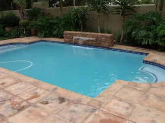 Estate swimming pool building and maintenance