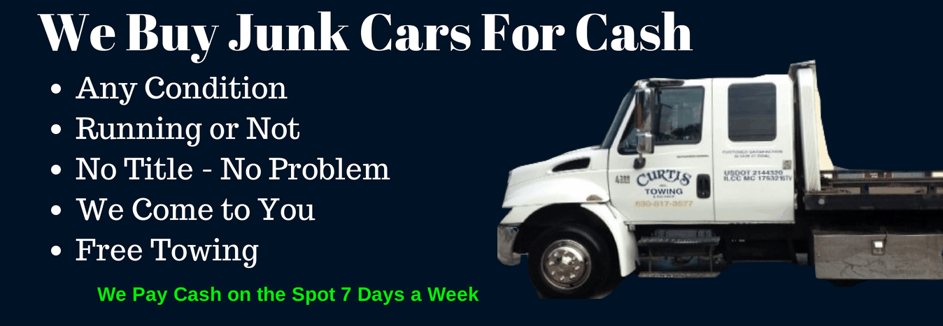 Junk car buyers, Curtis\'s Towing & Salvage Inc. Aurora, IL