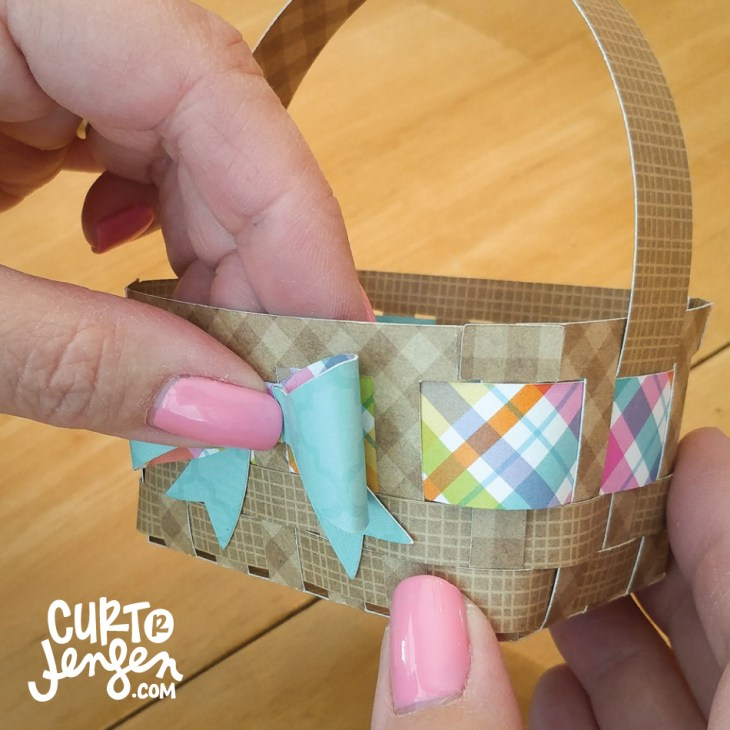 Mini Easter Basket tutorial image by Curt R. Jensen