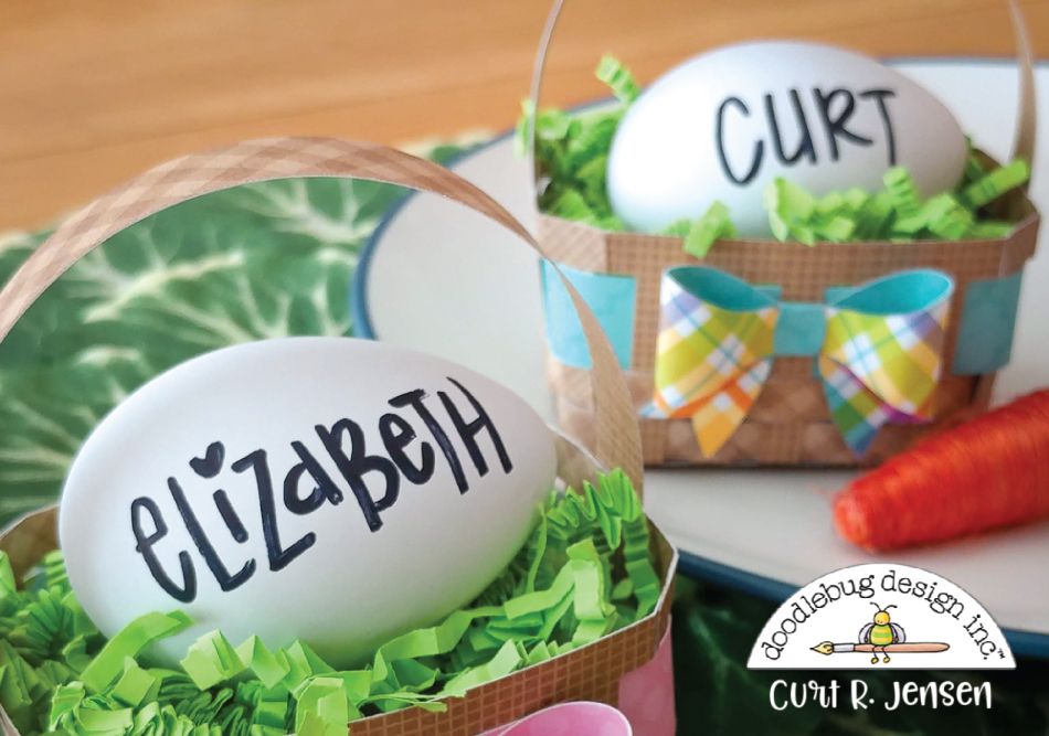 Mini Easter Basket by Curt R. Jensen